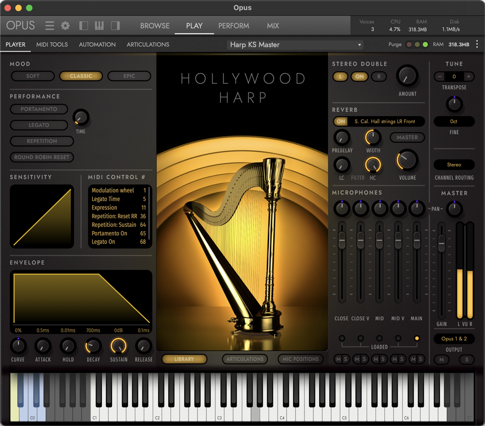Hollywood Harp - Classic