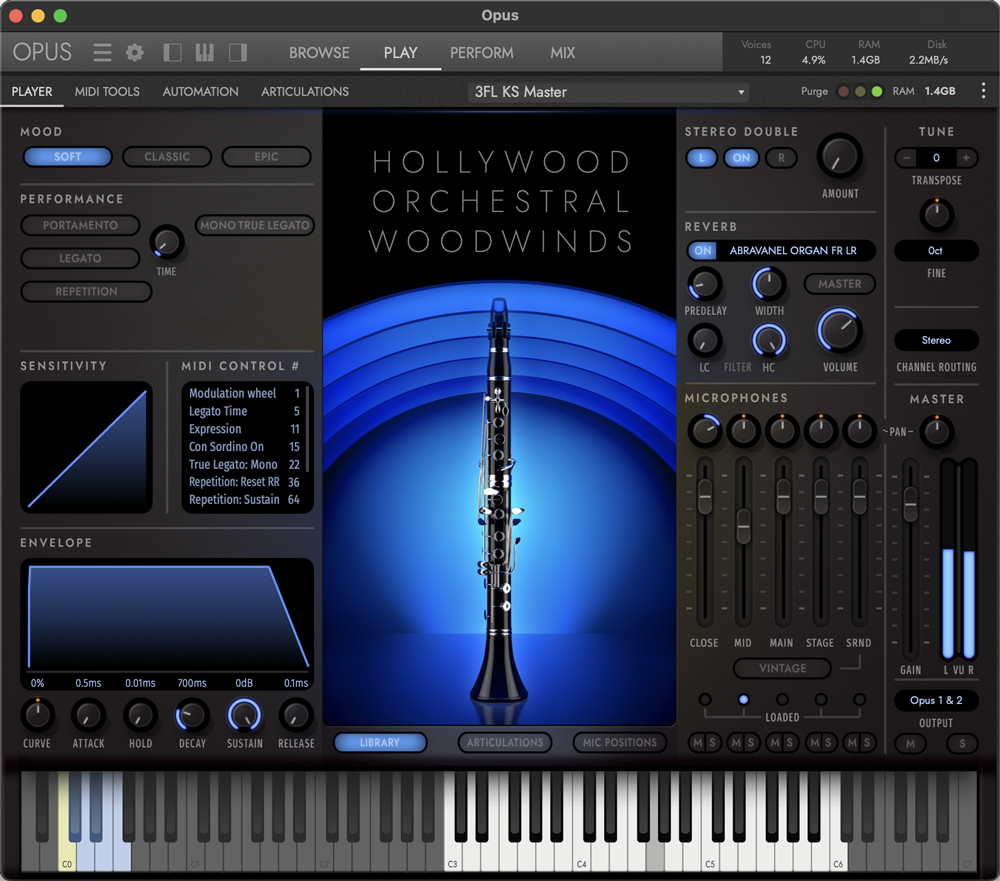 Hollywood Orchestral Woodwinds - Soft