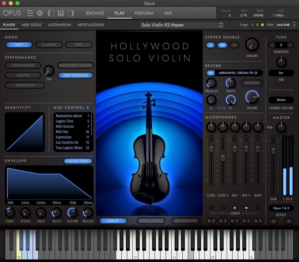Hollywood Solo Violin - Soft